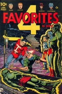 Cover Thumbnail for Four Favorites (Ace Magazines, 1941 series) #21