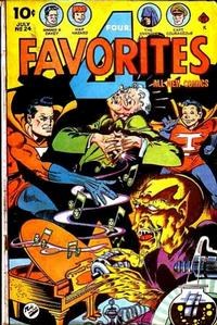 Cover Thumbnail for Four Favorites (Ace Magazines, 1941 series) #24