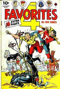 Cover Thumbnail for Four Favorites (Ace Magazines, 1941 series) #26