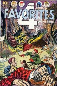 Cover Thumbnail for Four Favorites (Ace Magazines, 1941 series) #27