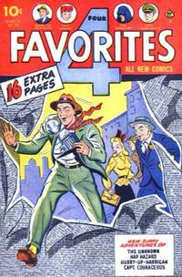 Cover Thumbnail for Four Favorites (Ace Magazines, 1941 series) #28