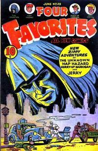 Cover Thumbnail for Four Favorites (Ace Magazines, 1941 series) #29
