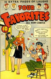 Cover Thumbnail for Four Favorites (Ace Magazines, 1941 series) #32