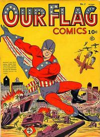 Cover Thumbnail for Our Flag Comics (Ace Magazines, 1941 series) #2