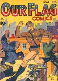 Cover Thumbnail for Our Flag Comics (Ace Magazines, 1941 series) #4