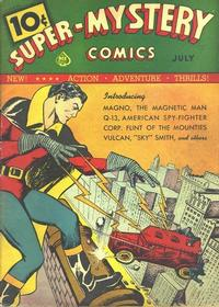 Cover Thumbnail for Super-Mystery Comics (Ace Magazines, 1940 series) #v1#1