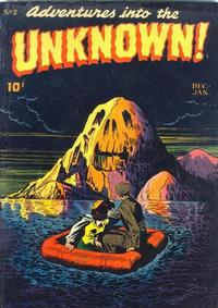 Cover Thumbnail for Adventures into the Unknown (American Comics Group, 1948 series) #2