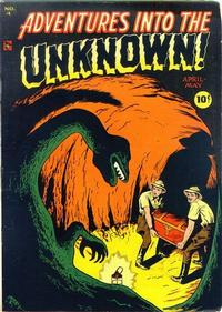 Cover Thumbnail for Adventures into the Unknown (American Comics Group, 1948 series) #4