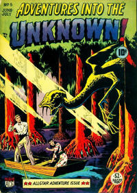 Cover Thumbnail for Adventures into the Unknown (American Comics Group, 1948 series) #5