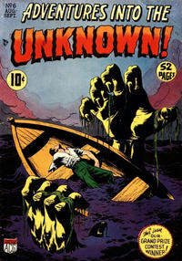 Cover for Adventures into the Unknown (American Comics Group, 1948 series) #6