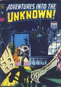 Cover Thumbnail for Adventures into the Unknown (American Comics Group, 1948 series) #8