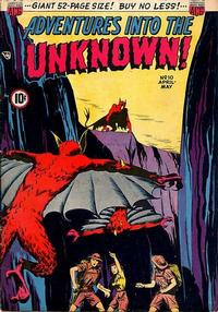 Cover Thumbnail for Adventures into the Unknown (American Comics Group, 1948 series) #10