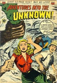 Cover for Adventures into the Unknown (American Comics Group, 1948 series) #14