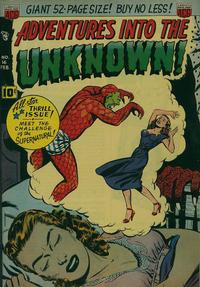 Cover Thumbnail for Adventures into the Unknown (American Comics Group, 1948 series) #16