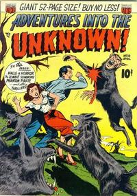Cover Thumbnail for Adventures into the Unknown (American Comics Group, 1948 series) #18
