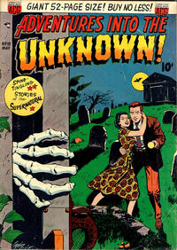 Cover Thumbnail for Adventures into the Unknown (American Comics Group, 1948 series) #19