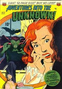 Cover Thumbnail for Adventures into the Unknown (American Comics Group, 1948 series) #21