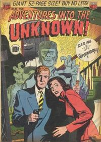 Cover Thumbnail for Adventures into the Unknown (American Comics Group, 1948 series) #25