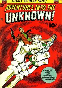 Cover Thumbnail for Adventures into the Unknown (American Comics Group, 1948 series) #28
