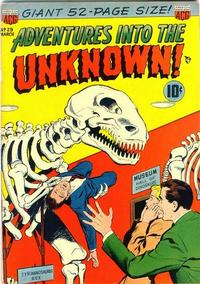 Cover Thumbnail for Adventures into the Unknown (American Comics Group, 1948 series) #29