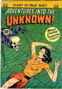 Cover Thumbnail for Adventures into the Unknown (American Comics Group, 1948 series) #33