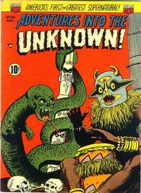 Cover Thumbnail for Adventures into the Unknown (American Comics Group, 1948 series) #34