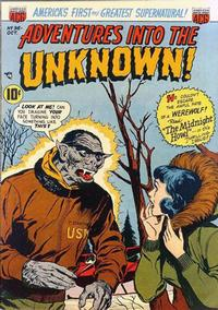 Cover Thumbnail for Adventures into the Unknown (American Comics Group, 1948 series) #36