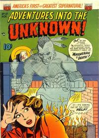 Cover Thumbnail for Adventures into the Unknown (American Comics Group, 1948 series) #37