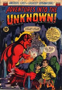 Cover Thumbnail for Adventures into the Unknown (American Comics Group, 1948 series) #38