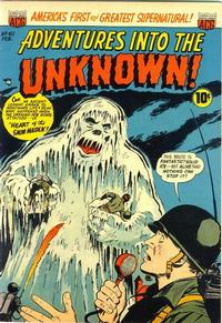 Cover Thumbnail for Adventures into the Unknown (American Comics Group, 1948 series) #40