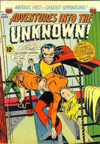 Cover Thumbnail for Adventures into the Unknown (American Comics Group, 1948 series) #41
