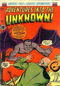 Cover Thumbnail for Adventures into the Unknown (American Comics Group, 1948 series) #45
