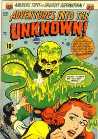Cover Thumbnail for Adventures into the Unknown (American Comics Group, 1948 series) #46