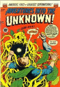 Cover for Adventures into the Unknown (American Comics Group, 1948 series) #48
