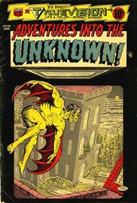 Cover for Adventures into the Unknown (American Comics Group, 1948 series) #53