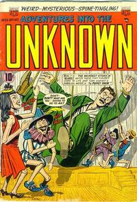 Cover for Adventures into the Unknown (American Comics Group, 1948 series) #59