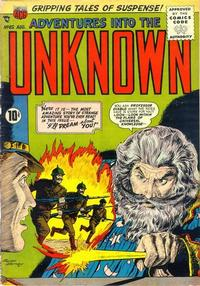 Cover Thumbnail for Adventures into the Unknown (American Comics Group, 1948 series) #65