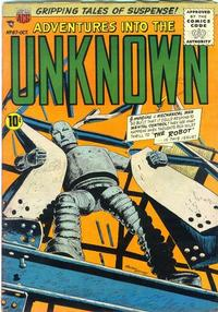 Cover Thumbnail for Adventures into the Unknown (American Comics Group, 1948 series) #67
