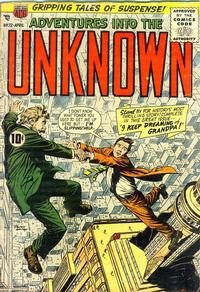 Cover Thumbnail for Adventures into the Unknown (American Comics Group, 1948 series) #72