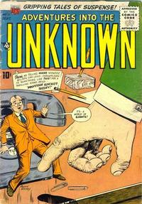 Cover Thumbnail for Adventures into the Unknown (American Comics Group, 1948 series) #76