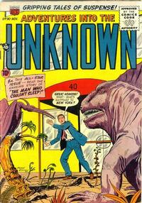 Cover for Adventures into the Unknown (American Comics Group, 1948 series) #90