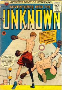 Cover Thumbnail for Adventures into the Unknown (American Comics Group, 1948 series) #91