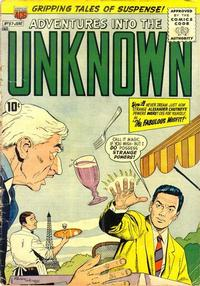 Cover Thumbnail for Adventures into the Unknown (American Comics Group, 1948 series) #97