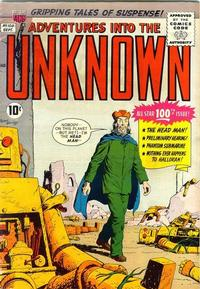 Cover Thumbnail for Adventures into the Unknown (American Comics Group, 1948 series) #100
