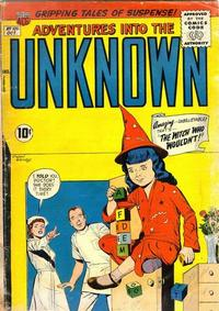 Cover Thumbnail for Adventures into the Unknown (American Comics Group, 1948 series) #101