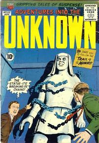 Cover Thumbnail for Adventures into the Unknown (American Comics Group, 1948 series) #102