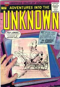 Cover Thumbnail for Adventures into the Unknown (American Comics Group, 1948 series) #104