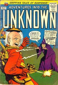 Cover for Adventures into the Unknown (American Comics Group, 1948 series) #107