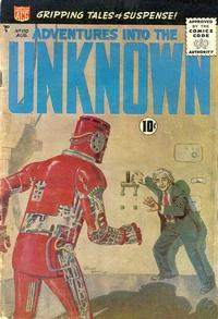 Cover Thumbnail for Adventures into the Unknown (American Comics Group, 1948 series) #110
