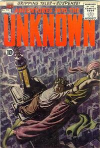 Cover for Adventures into the Unknown (American Comics Group, 1948 series) #118